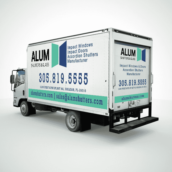 Alum Shutters and Glass - Graphic Design