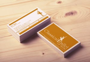 Classical ballet of Miami - Business Card