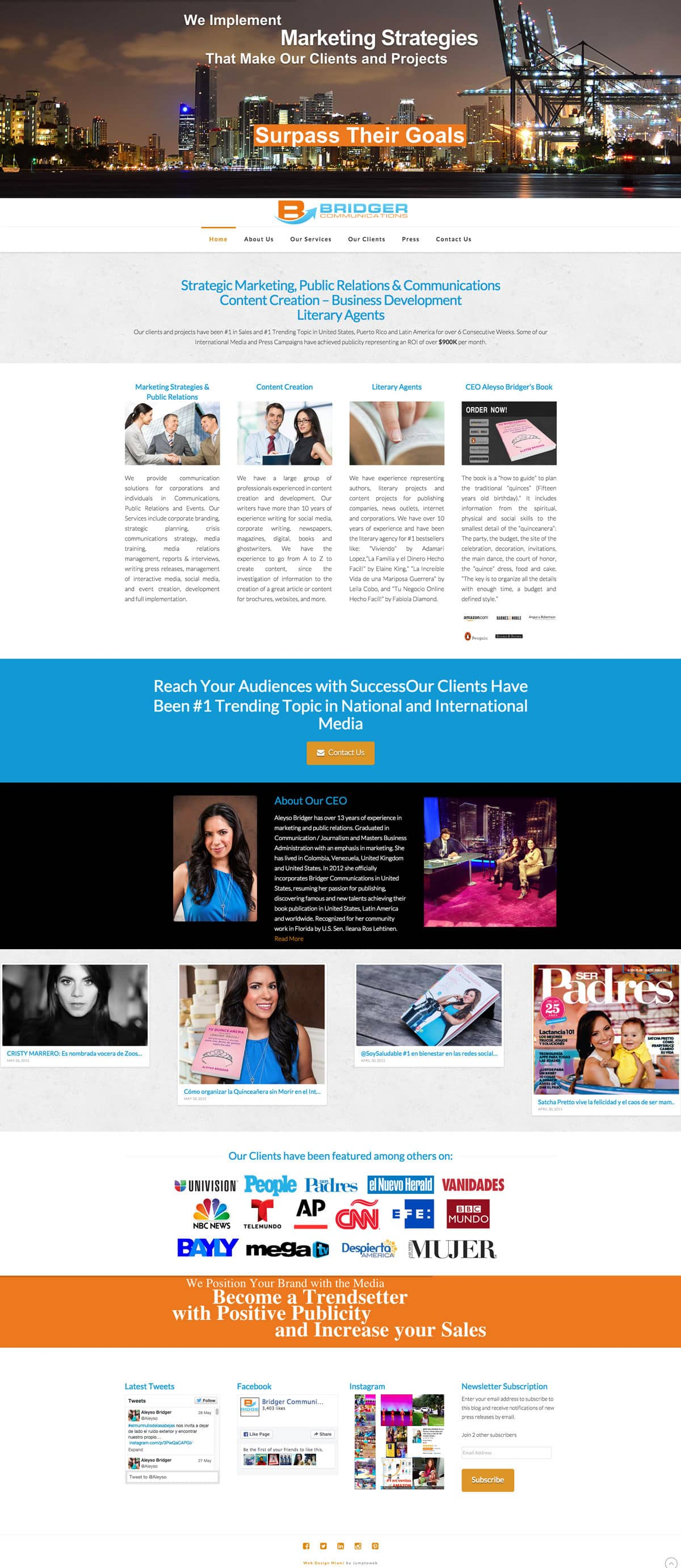 Bridger Communications (Web Design)