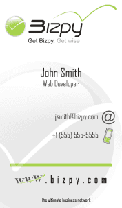 Bizpy - Business Card