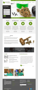 Cultivated Compassion - Web Design