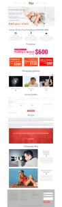 DGala's Photo Studio - Web Design