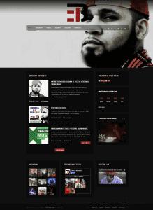 El B Los Aldeanos - Web Design