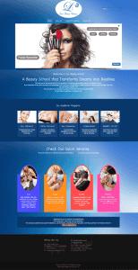 Latin Beauty Academy - Web Design