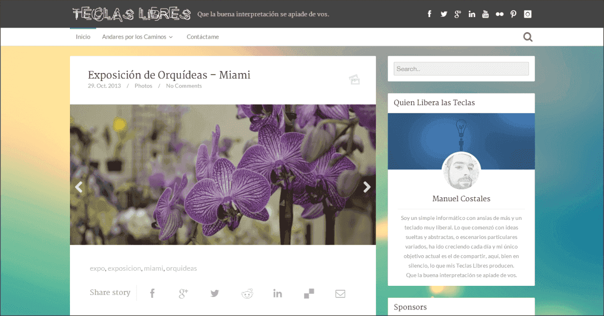 Teclas Libres - Web Design